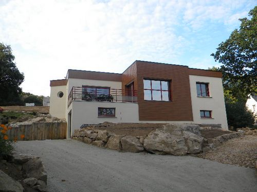 Maison d'habitation moderne