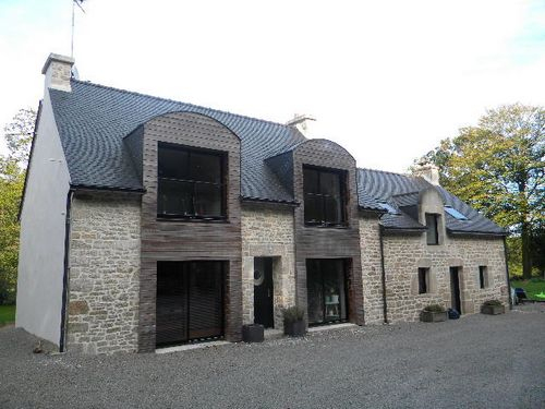 exemple de restauration d'une maison Bretonne